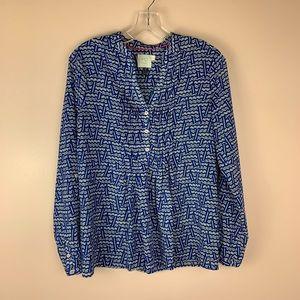 HD in Paris Blue Popover Shirt 2